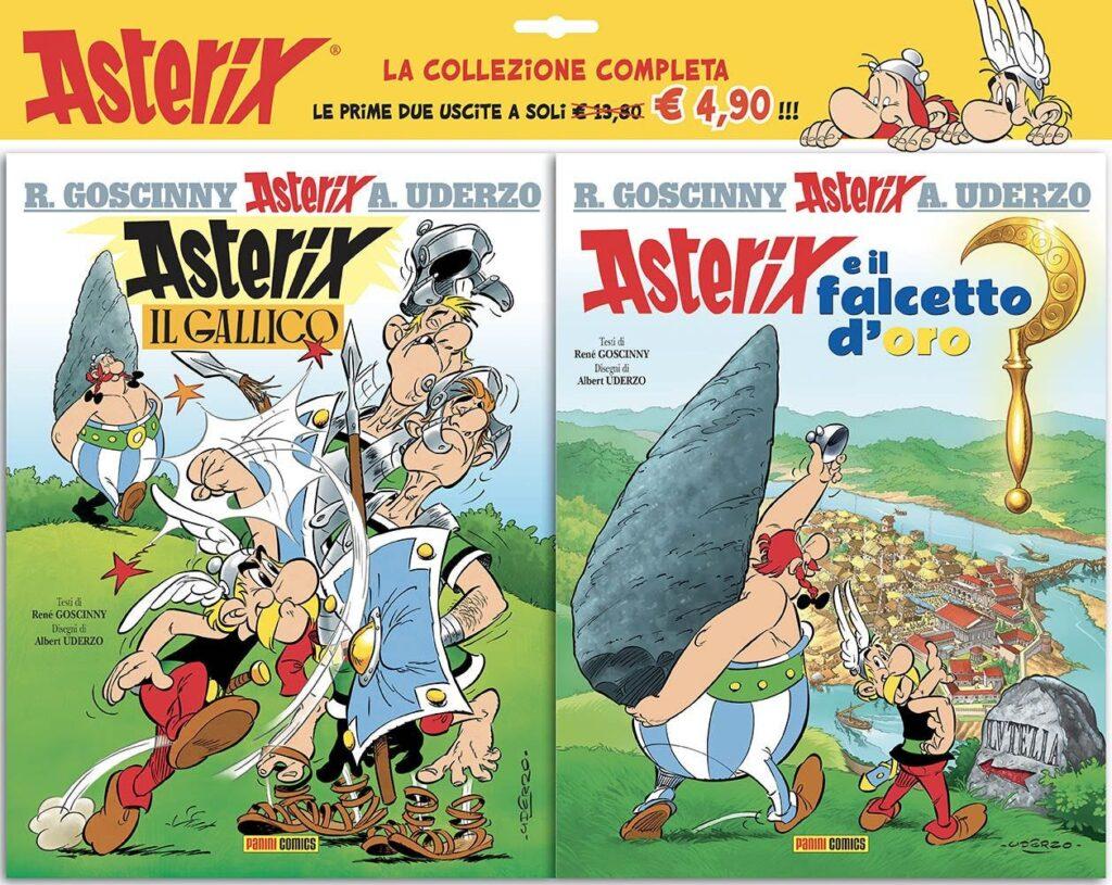 La collezione completa di Asterix