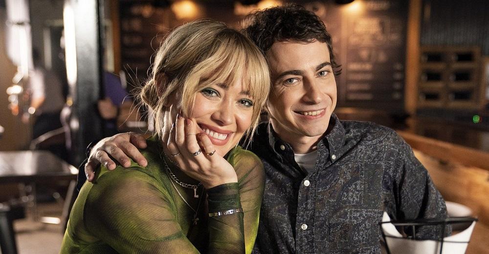 Lizzie McGuire con Hilary Duff