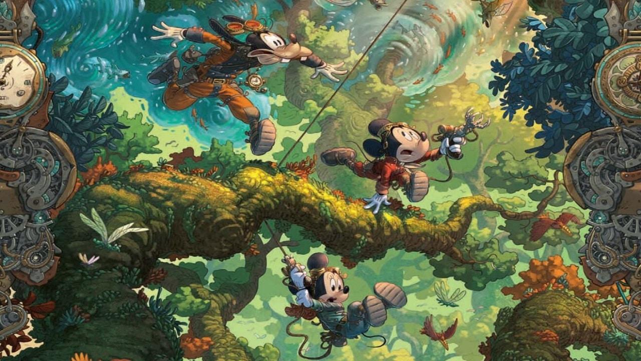 Panini Comics presenta Mickey E L'Oceano Perduto, il primo numero della nuova collana con i protagonisti Disney thumbnail