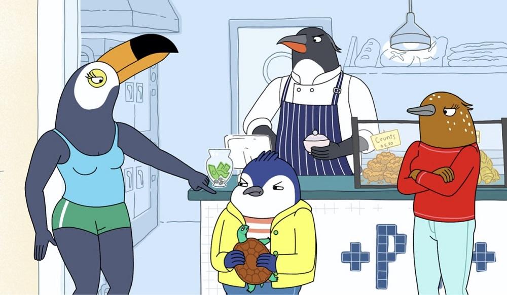 Tuca e Bertie seconda stagione, Adult Swim