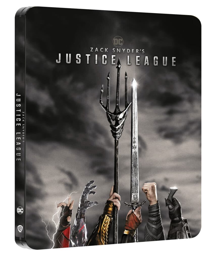 Zack Snyder's Justice League in Blu-Ray