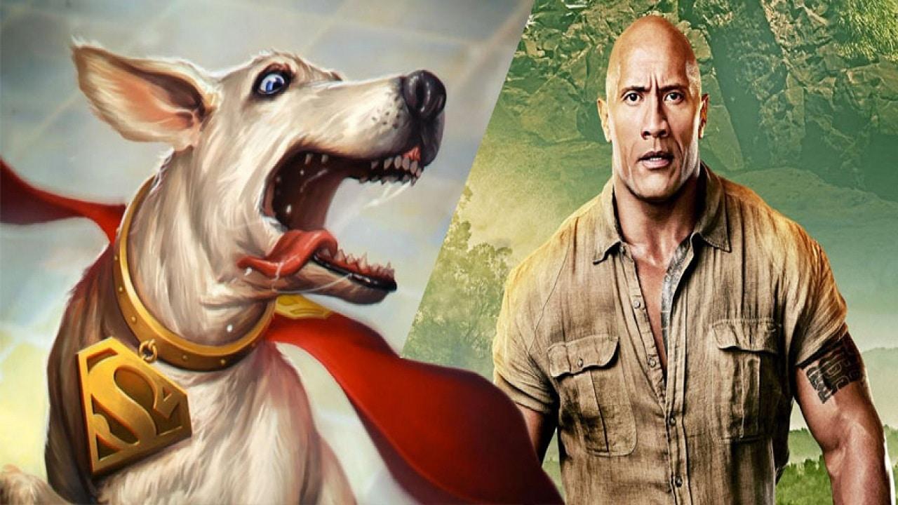 Dwayne Johnson sarà Krypto, il cane di Superman in un film animato thumbnail