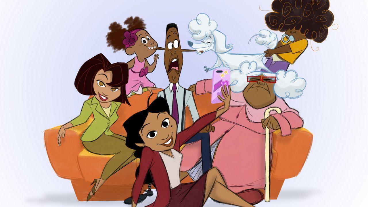 La famiglia Proud: svelati i nuovi personaggi del revival thumbnail