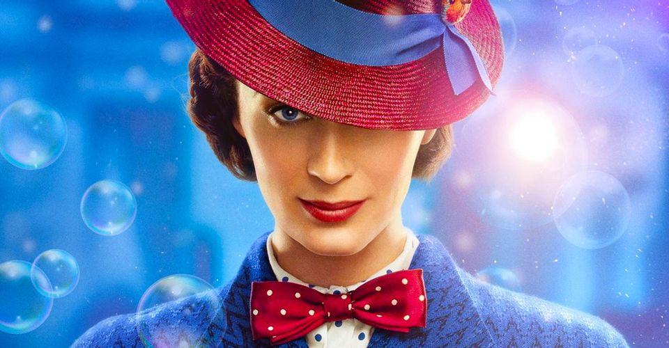 Mary Poppins è un supereroe? Per Emily Blunt sì thumbnail
