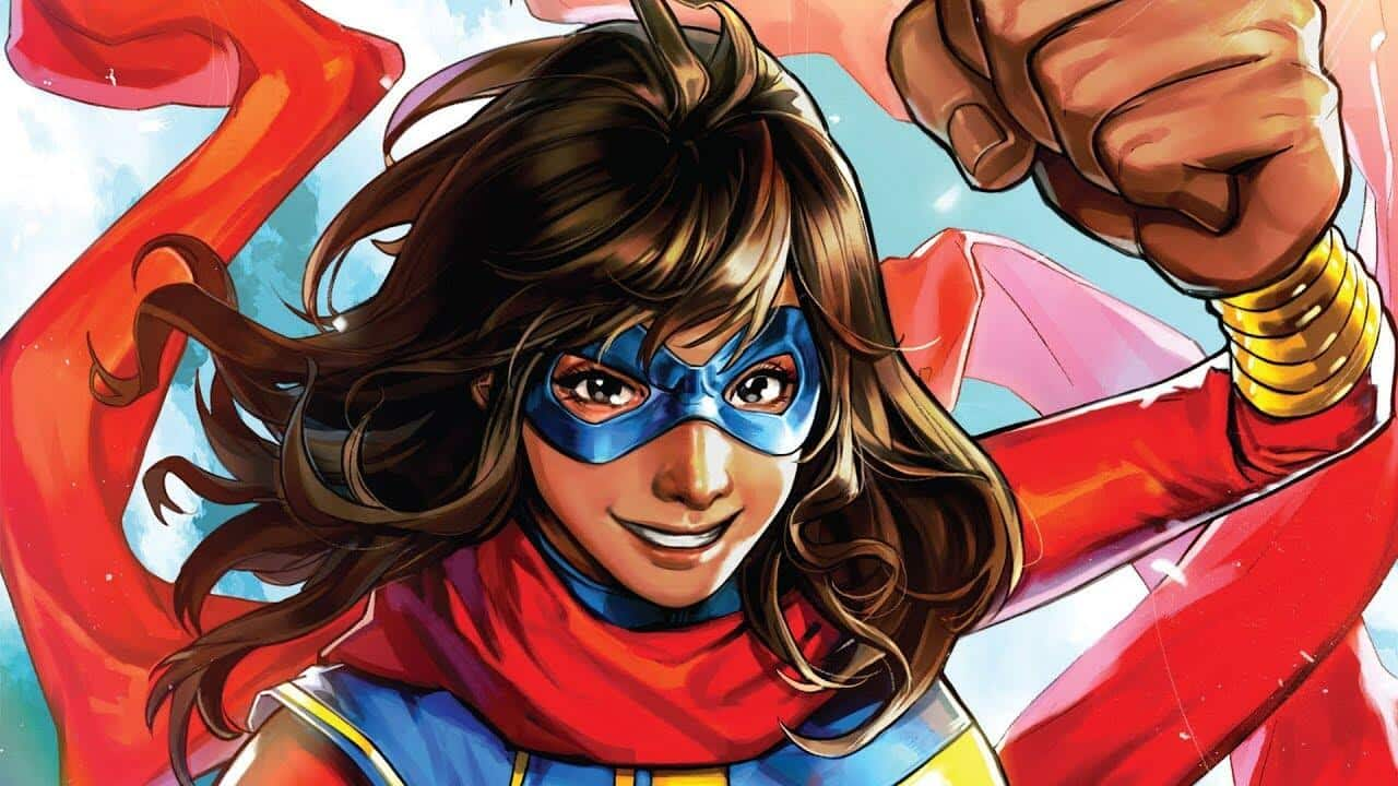 Ms. Marvel: prima foto in costume della protagonista dal set thumbnail