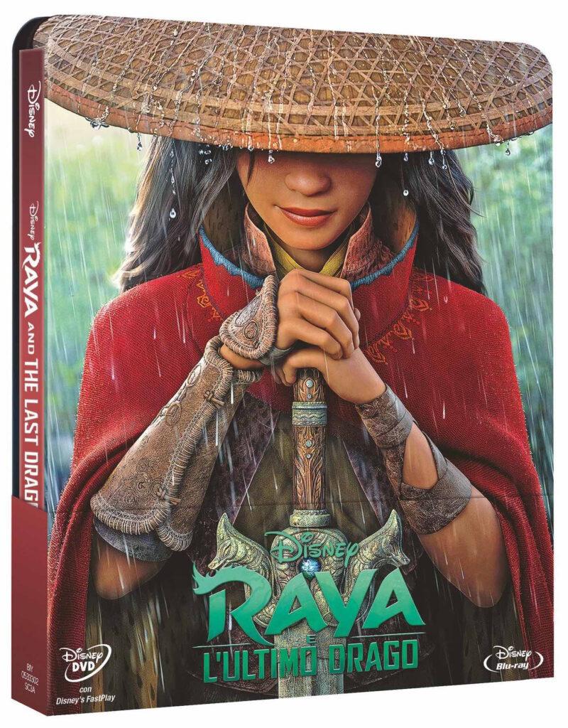 Raya e l'ultimo drago Blu-ray Steelbook