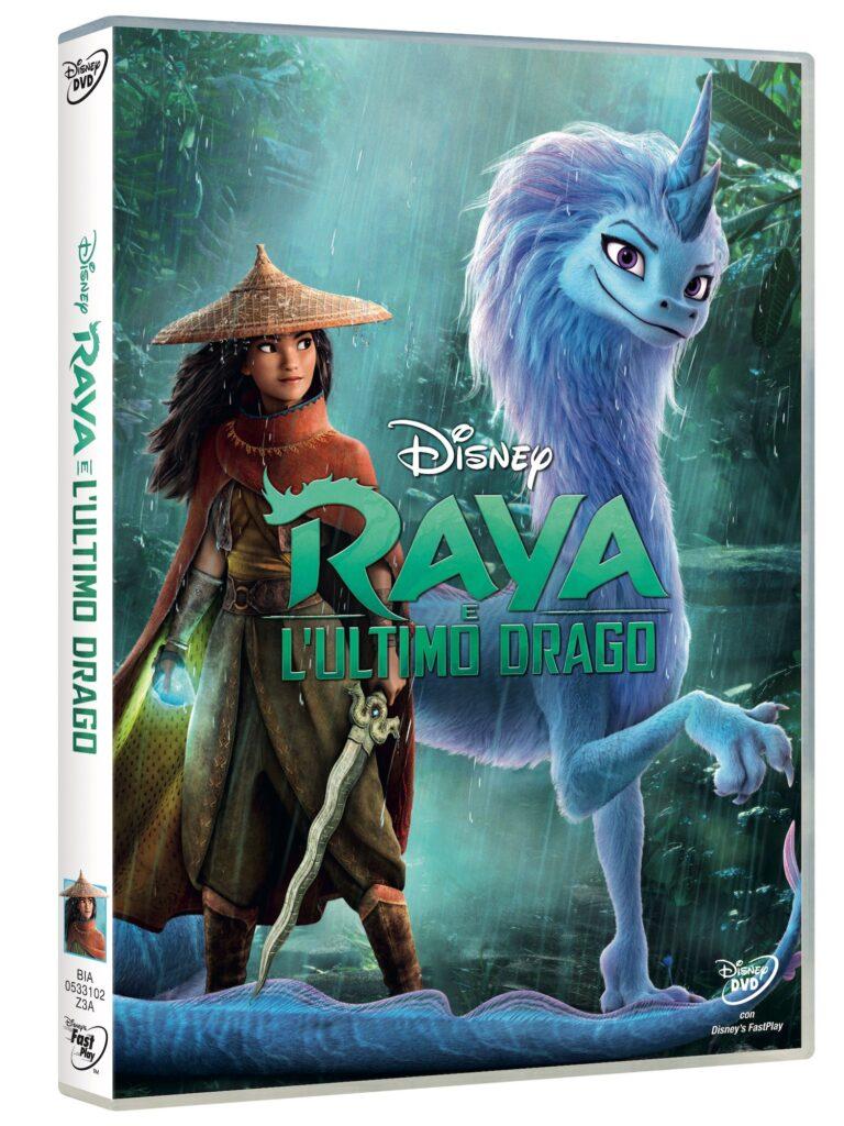 Raya e l'ultimo drago DVD