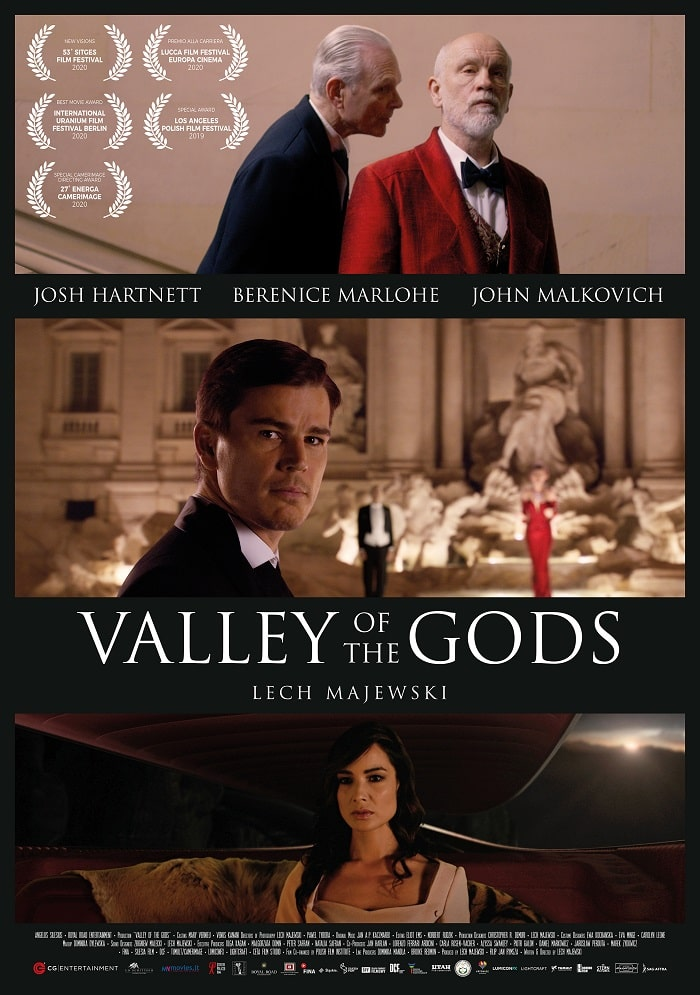valley of gods poster recensione