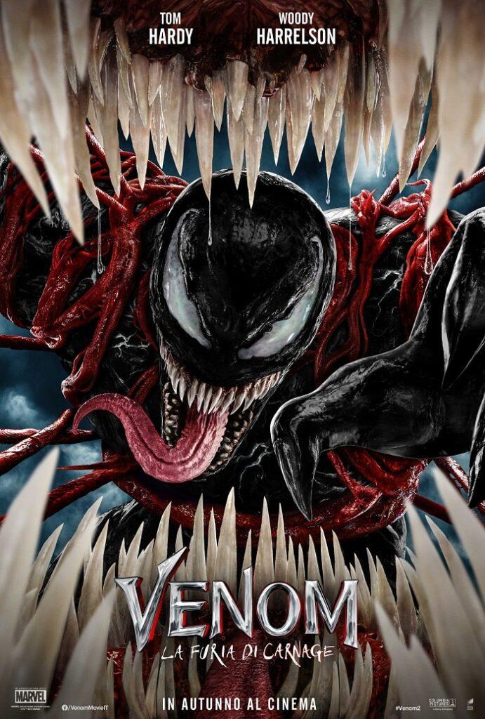 venom 2 trailer la furia di carnage poster-min