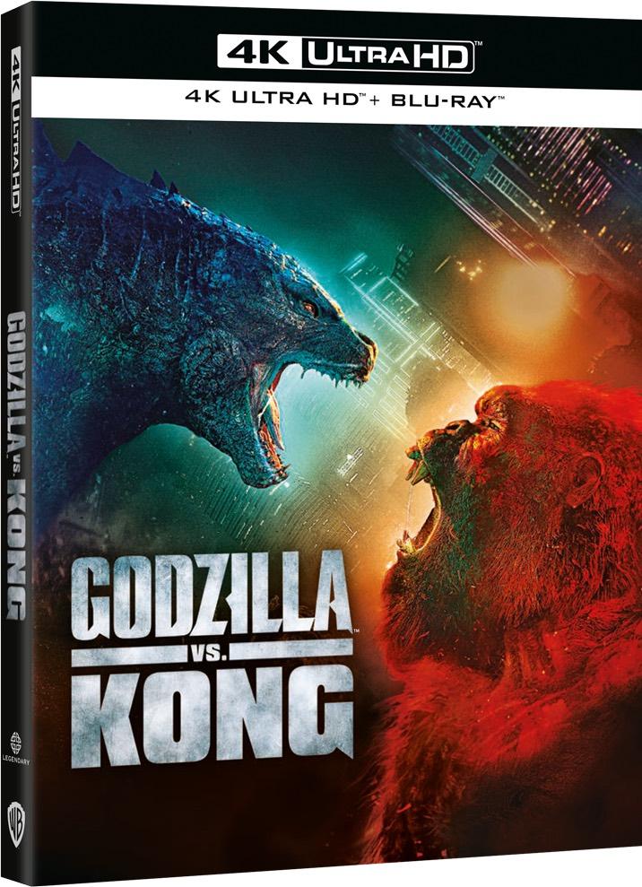 Blu-Ray di Godzilla Vs Kong