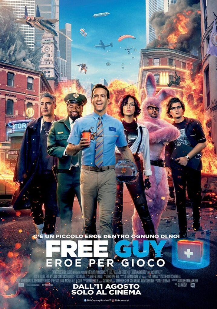 free guy eroe per gioco trailer poster