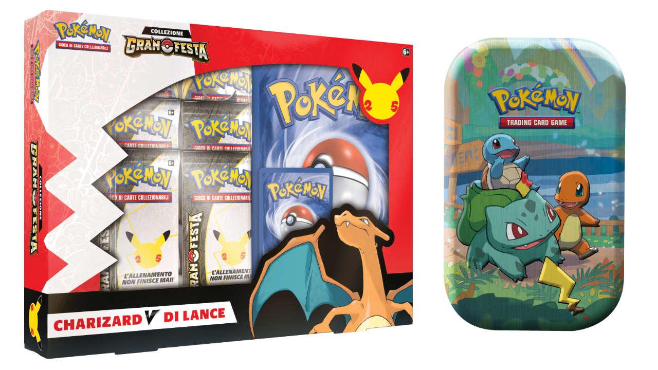 Annunciate le carte Pokemon Gran Festa per festeggiare il 25° anniversario del franchise thumbnail
