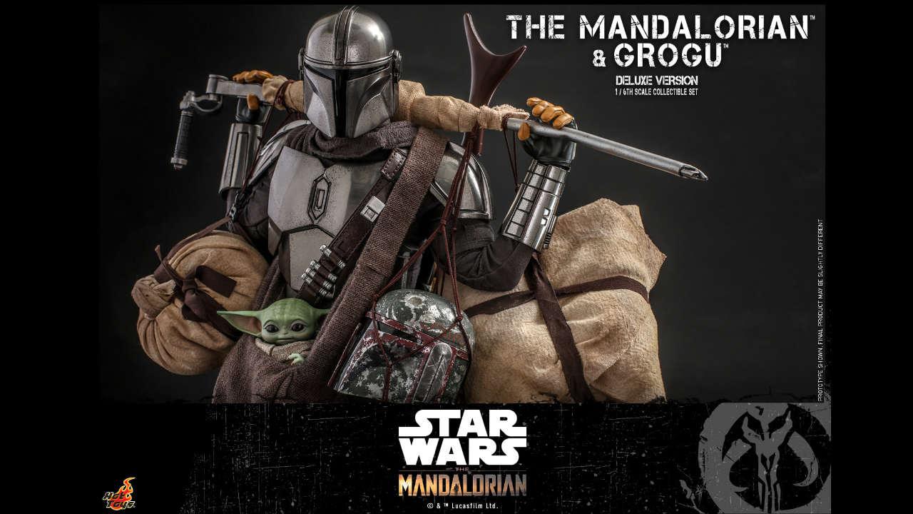 Hot Toys The Mandalorian & Grogu - Presentato il set in versione Deluxe thumbnail