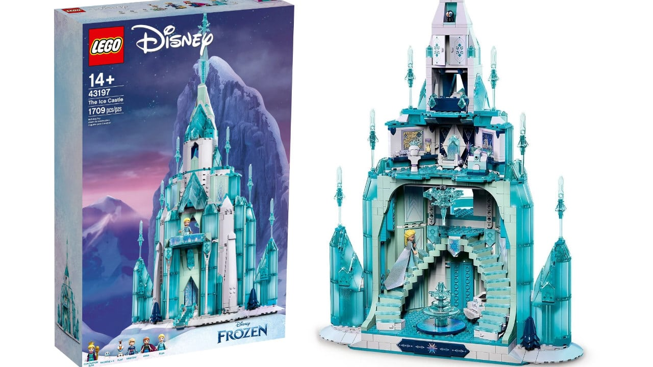 LEGO Disney Frozen il Castello di Ghiaccio - Annunciato ufficialmente thumbnail