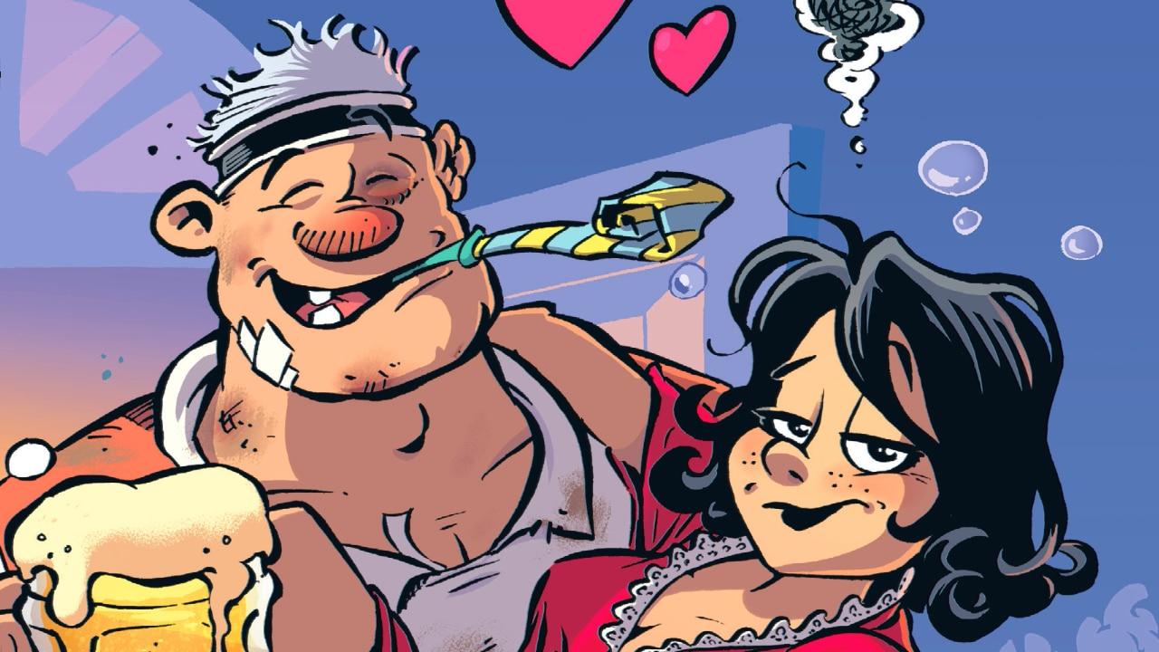 Rugbymen - La vita da rugbista: torna il libreria il rugby a fumetti thumbnail