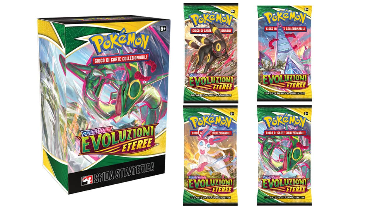 Carte Collezionabili Pokémon: annunciata la nuova espansione Spada e Scudo - Evoluzioni Eteree thumbnail