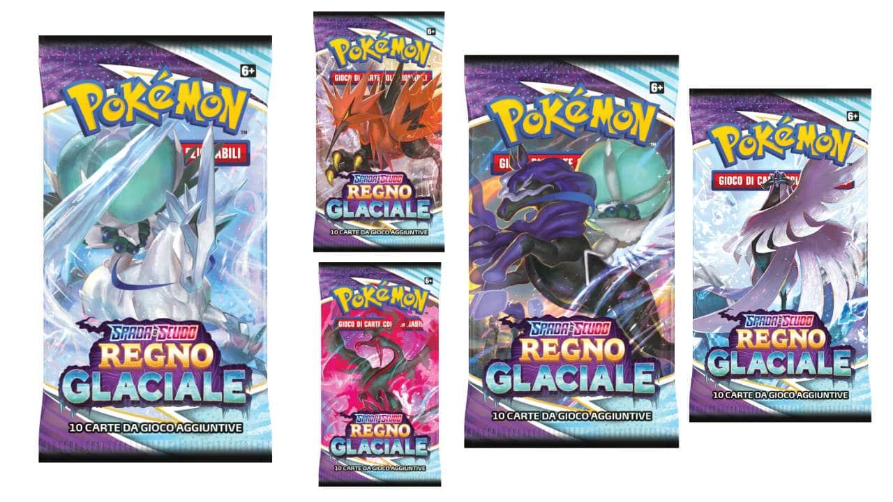 L'espansione Spada e Scudo - Regno Glaciale del GCC Pokémon è disponibile thumbnail