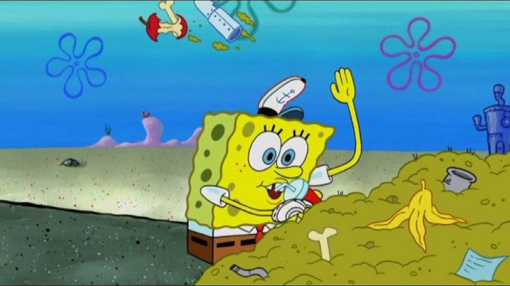 SpongeBob Giornata Mondiale degli Oceani