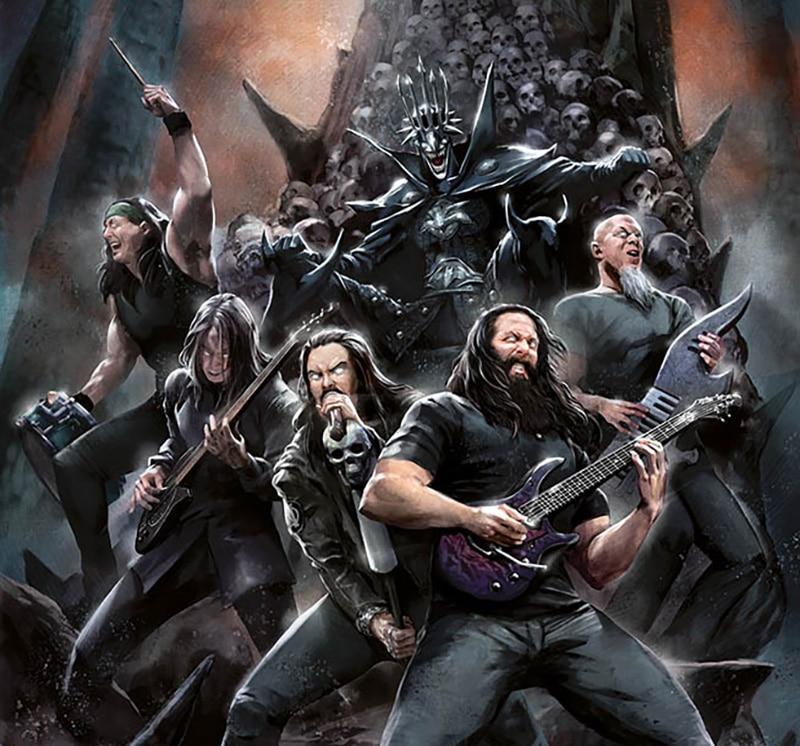 batman lacuna coil death metal band edition megadeth