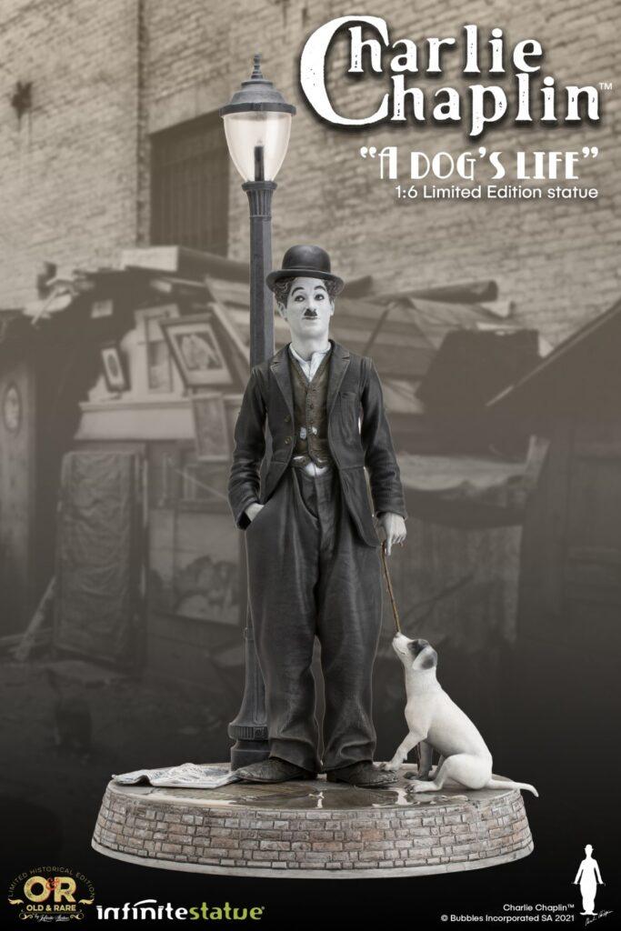Infinite Statue Charlie Chaplin