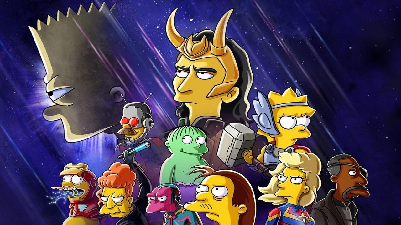 I Simpson incontrano gli Avengers nel nuovo corto su Disney+ thumbnail