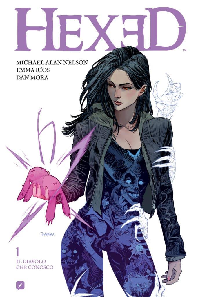 graphic novel Hexed