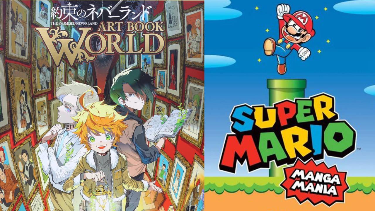 Super Mario Bros e l'artbook di The Promised Neverland tra le novità J-POP thumbnail