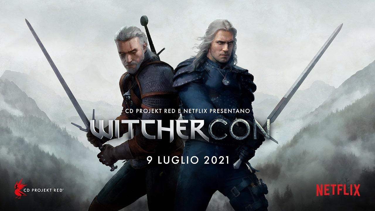 WitcherCon: arriva l'evento virtuale per tutti i fan di The Witcher thumbnail