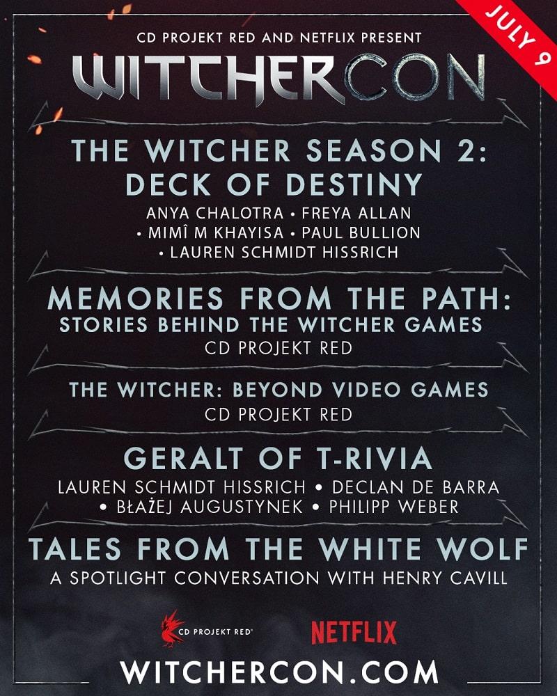 witchercon the witcher programma completo-min