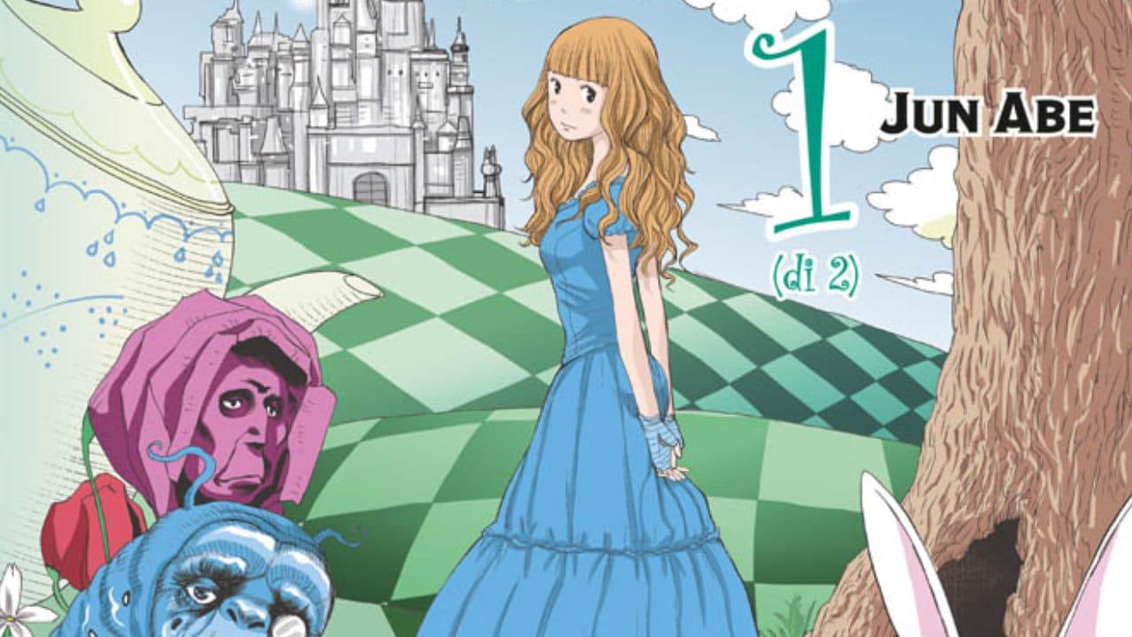 Alice in WonderLand, arriva l'adattamento manga del film di Tim Burton thumbnail