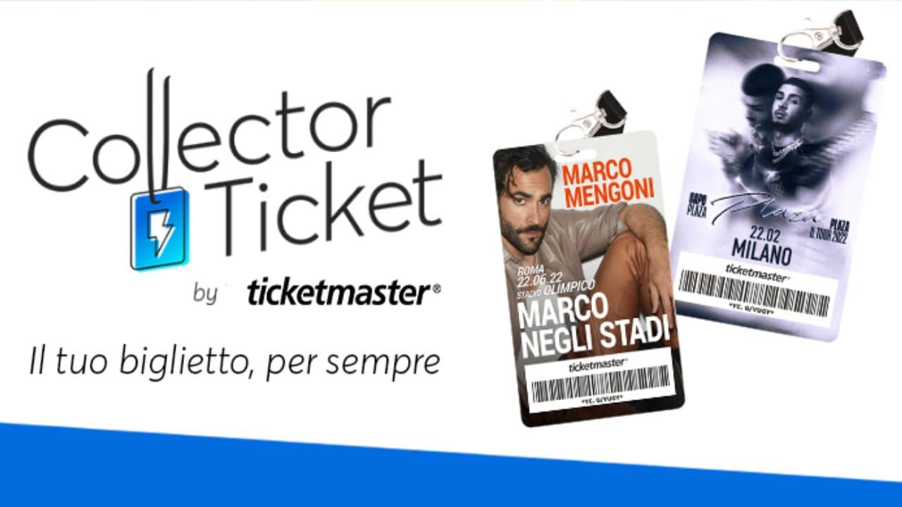 Collector Ticket di Ticketmaster, in arrivo i pass unici ed esclusivi thumbnail