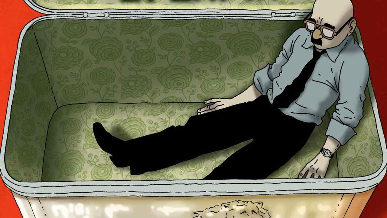 Dentro una scatola di latta, disponibile il nuovo graphic novel di Marco Galli thumbnail
