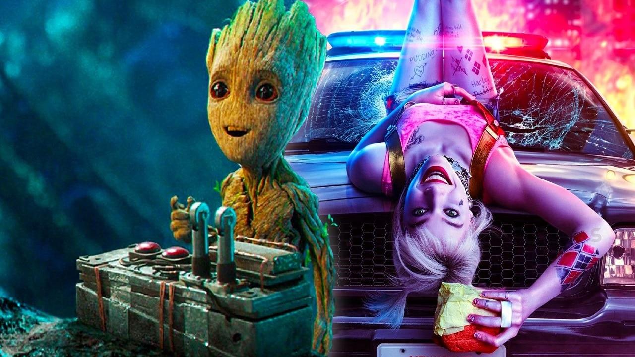James Gunn ha proposto un film con Harley Quinn e Groot thumbnail