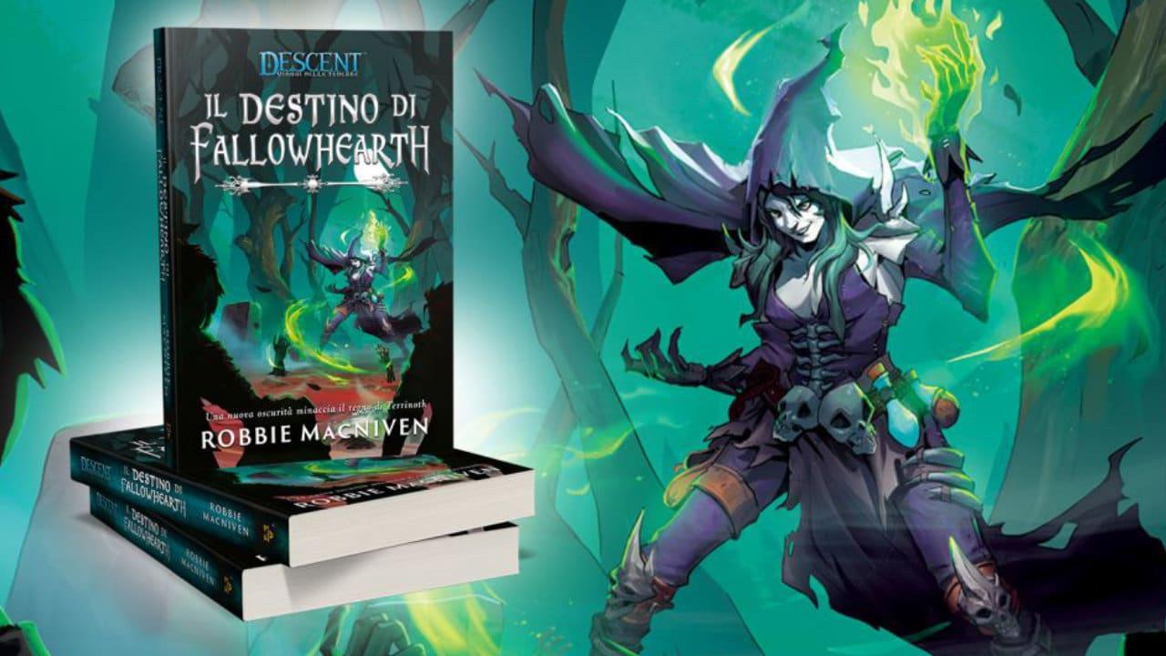 Il Destino di Fallowhearth, è arrivato il romanzo fantasy tratto dal gioco Descent thumbnail