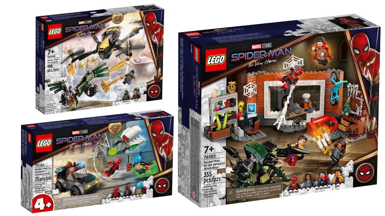 LEGO Marvel, annunciati tre nuovi set dal film Spider-Man:No Way Home thumbnail