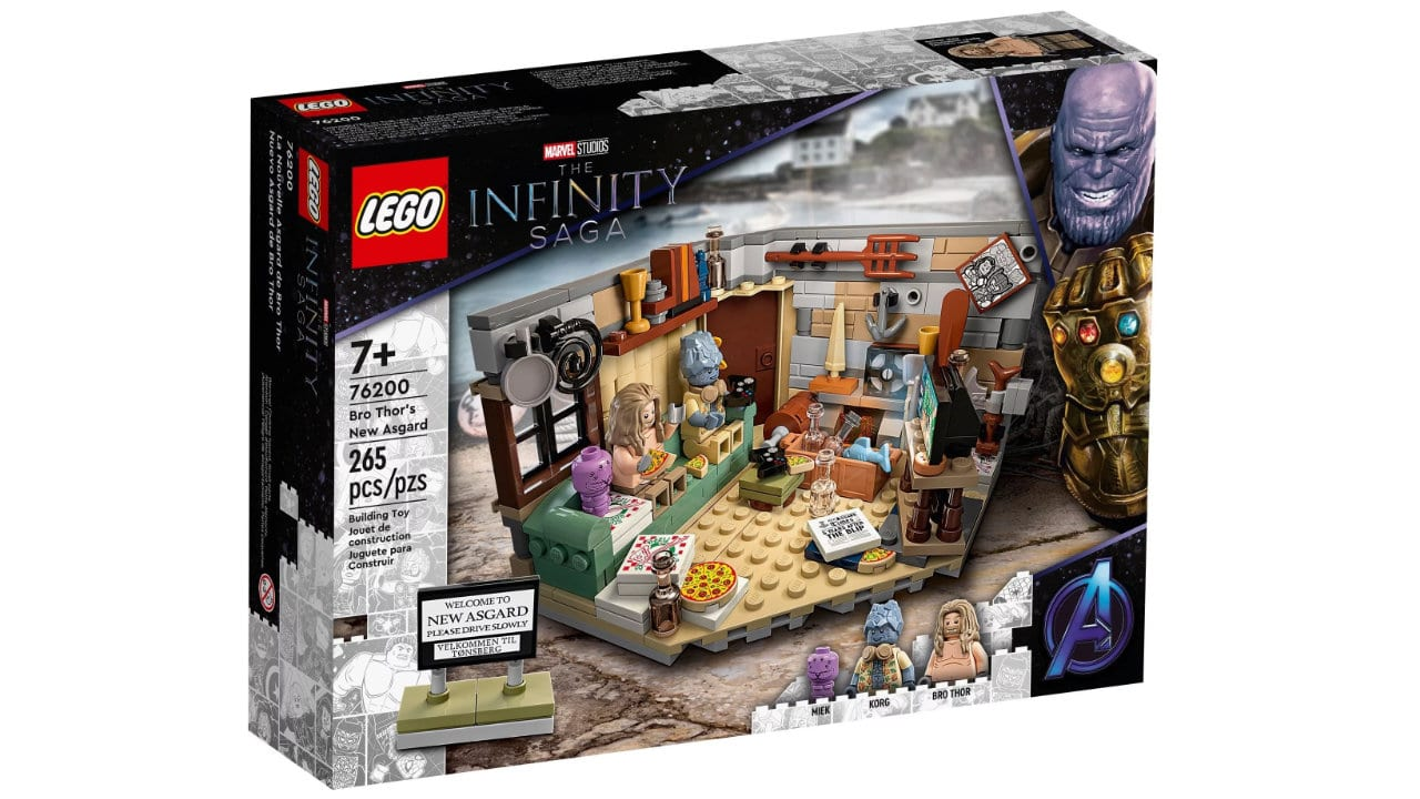 La nuova Asgard di Bro Thor, in arrivo il set LEGO da Avengers Endgame thumbnail