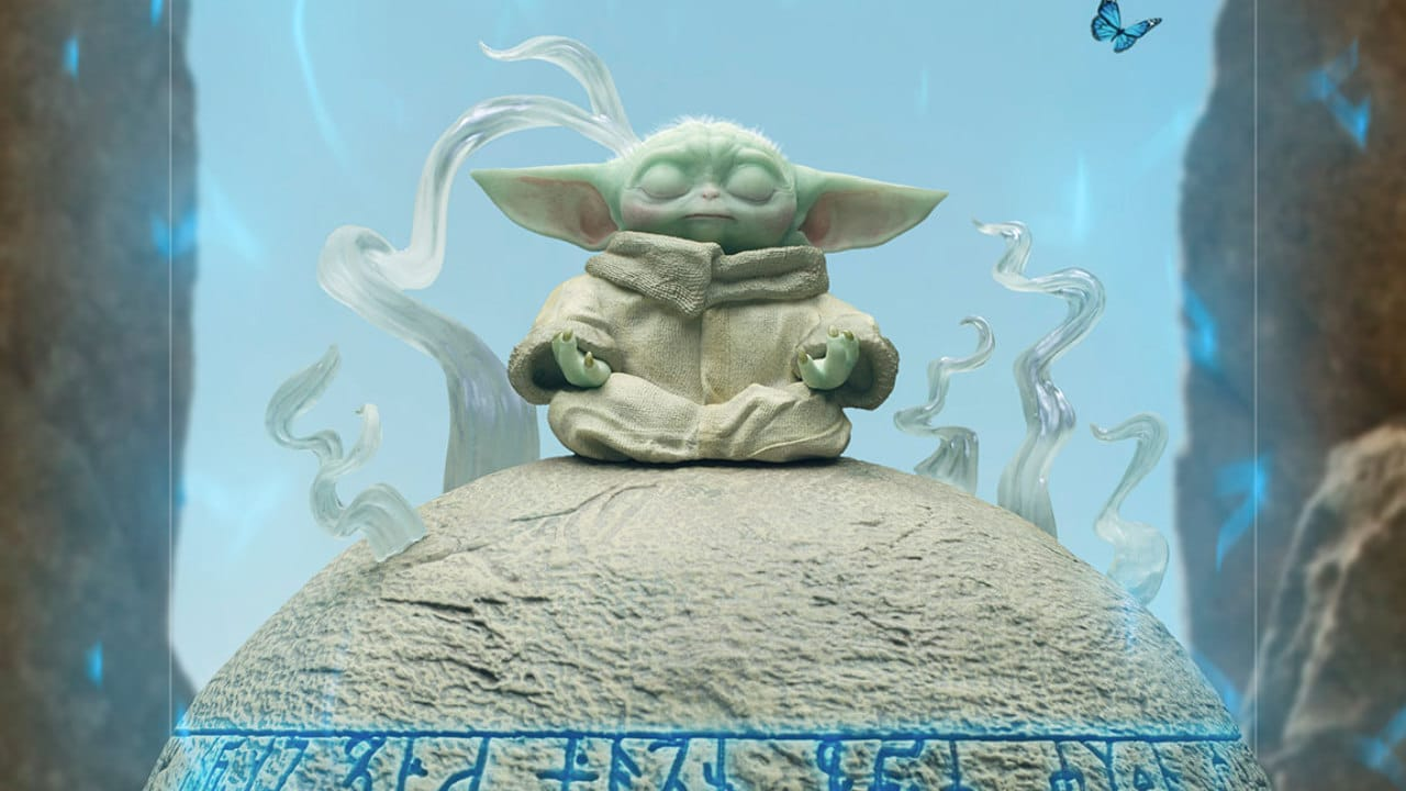 La statua Iron Studios di Grogu ispirata alla serie The Mandalorian thumbnail
