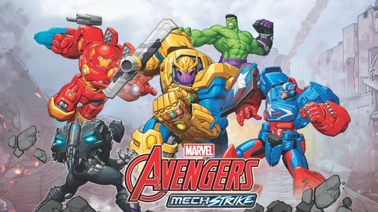 Marvel Avengers Mech Strike, le nuove collezioni dedicate ai supereroi thumbnail