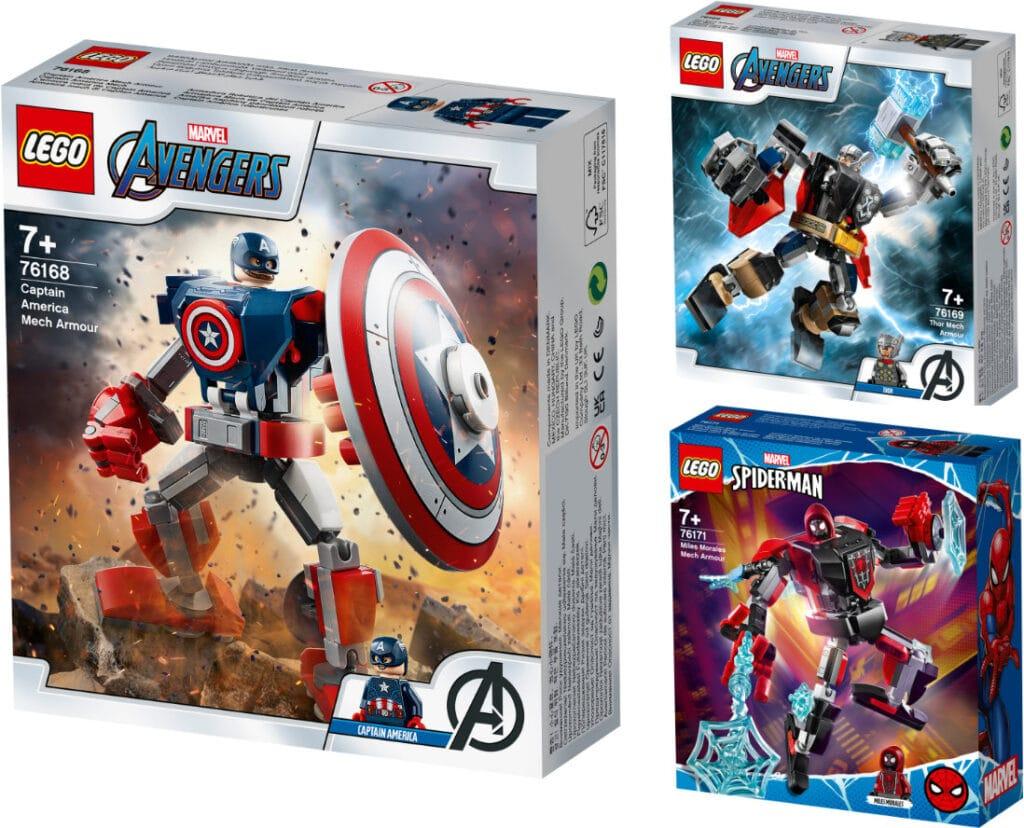 Marvel Avengers Mech Strike