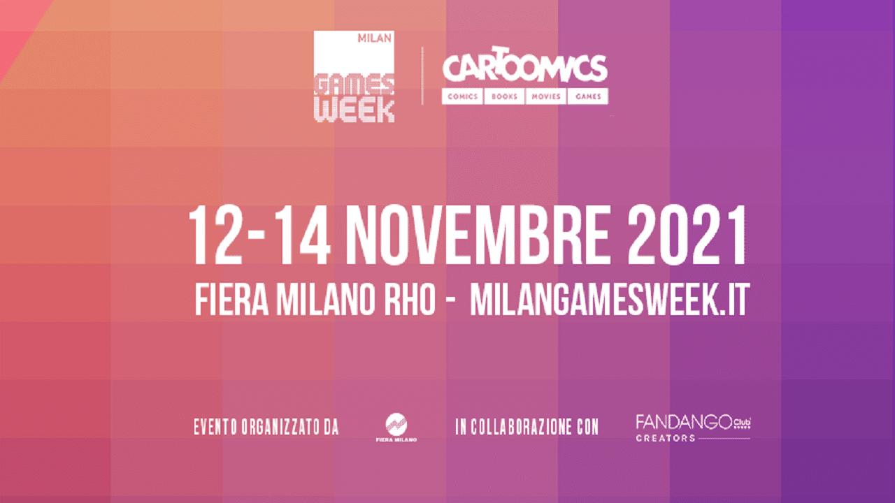 Svelate le date di Milan Games Week & Cartoomics 2021 thumbnail