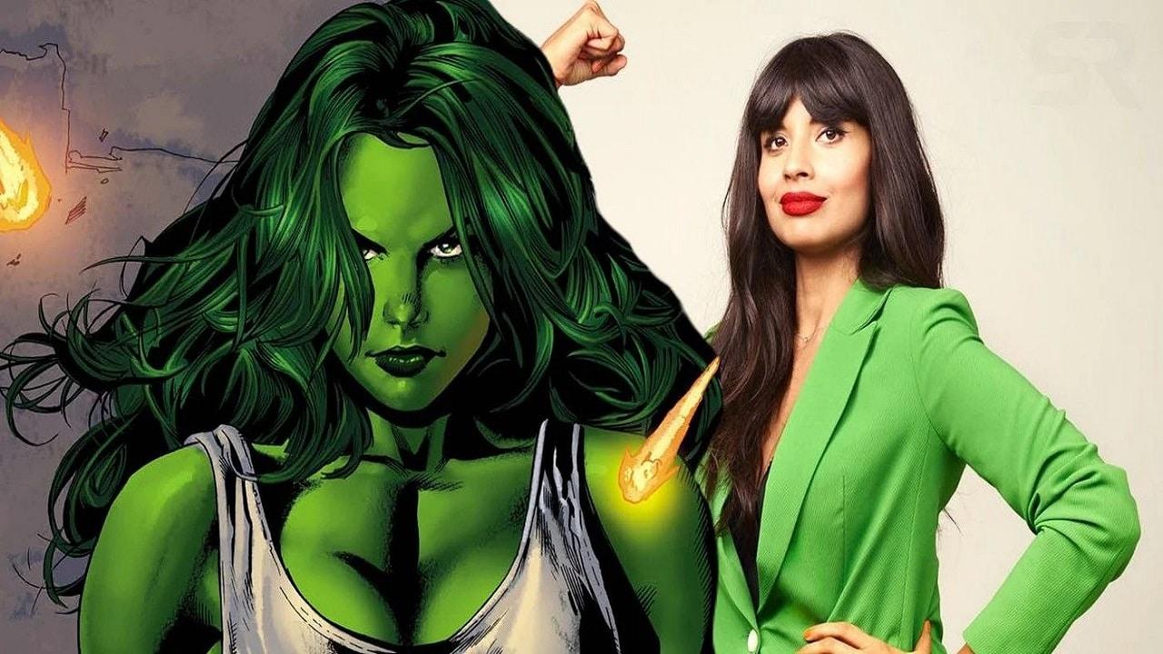 She-Hulk: Jameela Jamil condivide un video di allenamento thumbnail