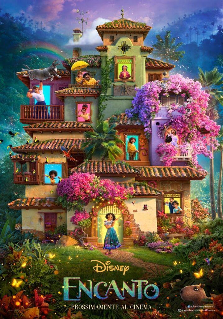 encanto poster ufficiale e trailer del film-min