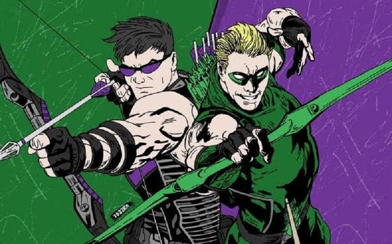hawkeye green arrow olimpiadi supereroi-min