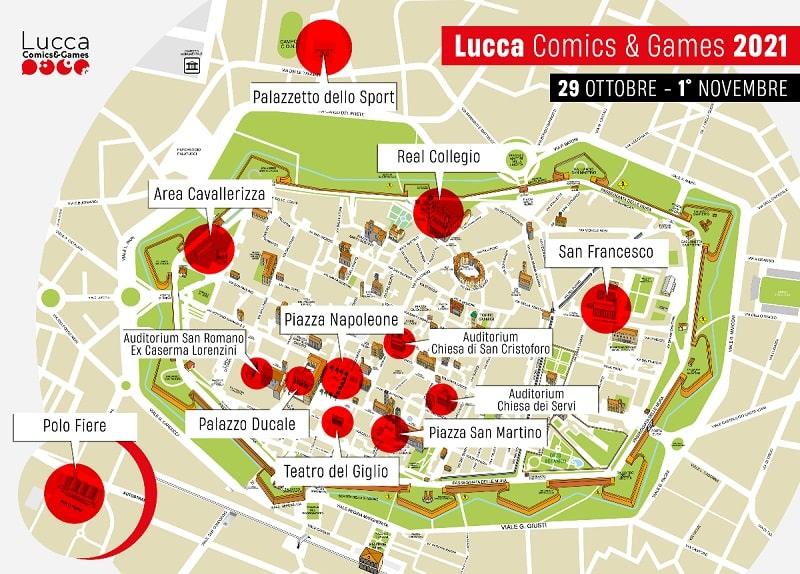 lucca comics & Games 2021 in presenza-min