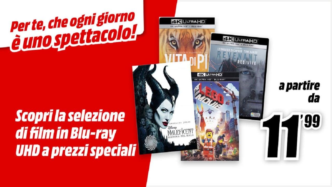 Offertona MediaWorld sui DVD e Blu-ray thumbnail