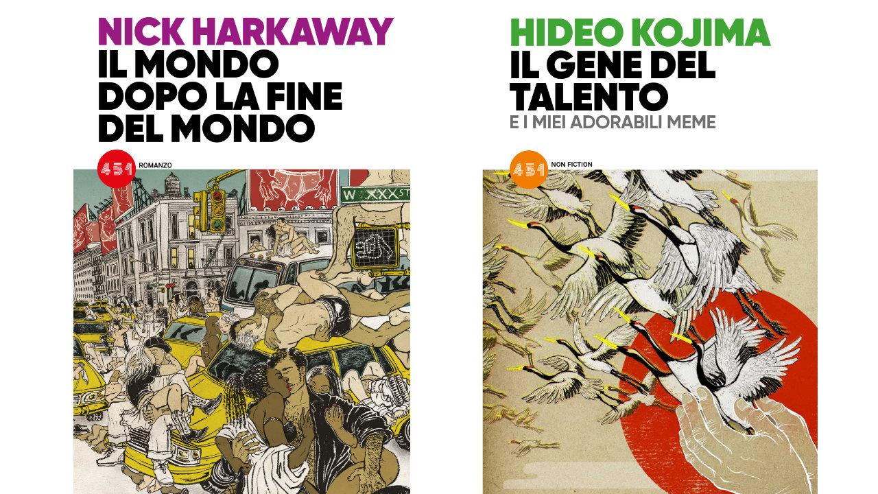 Hideo Kojima e Nick Harkaway, in uscita i libri per il progetto 451 di Edizioni BD thumbnail