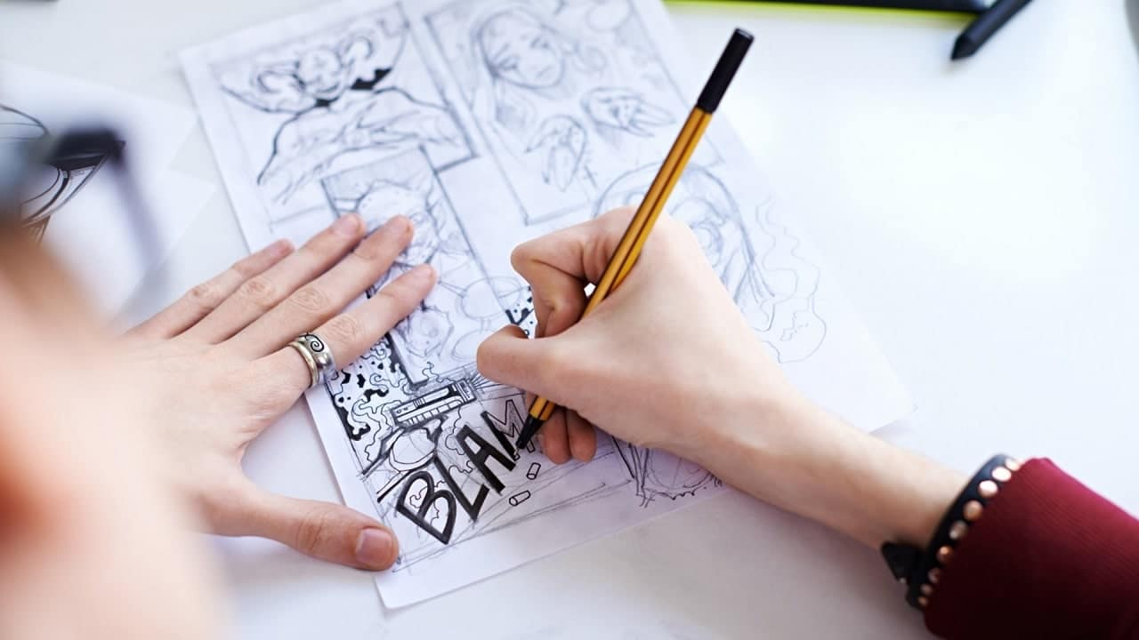 Come scrivere un fumetto? Lo spiegano Alex Crippa e Andrea Pasini thumbnail