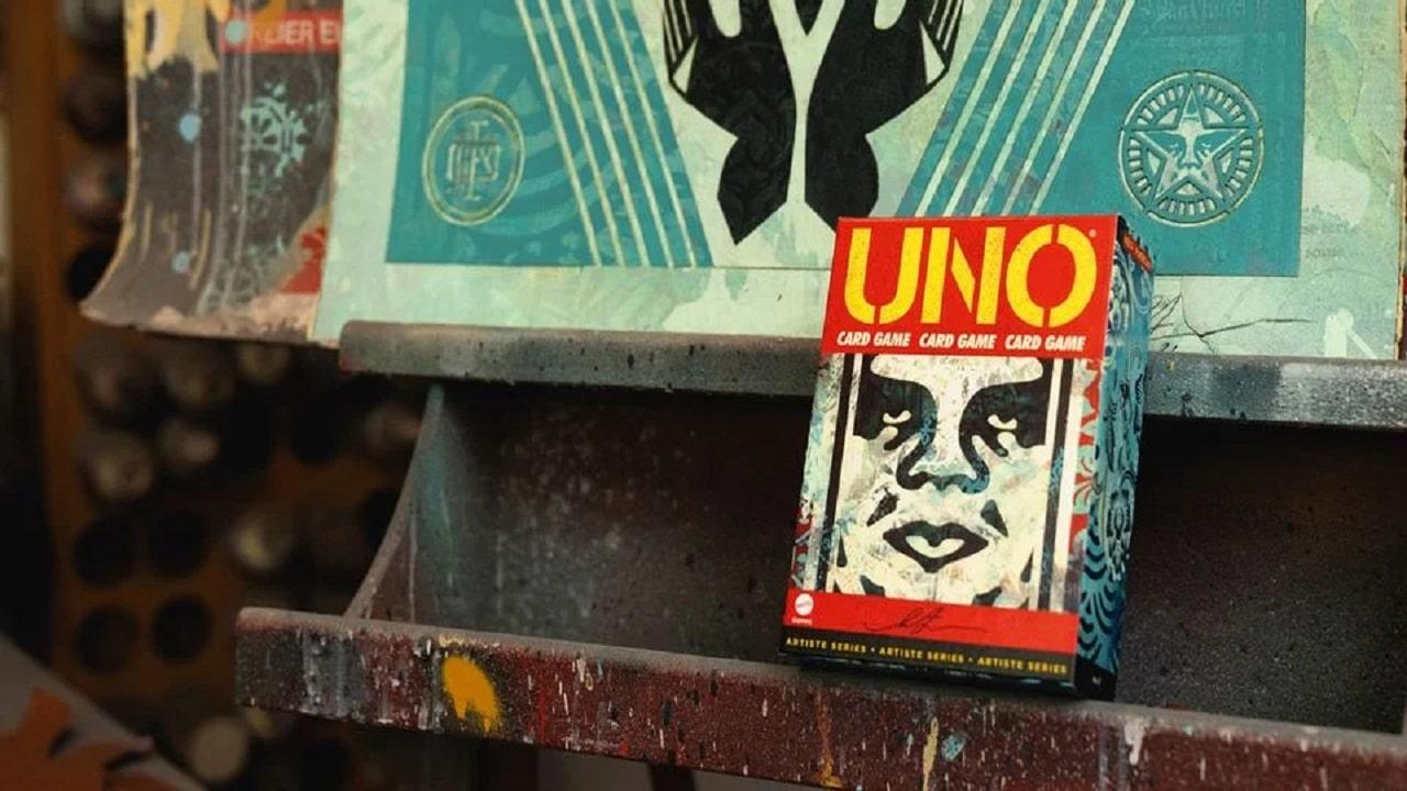 In arrivo una versione di UNO di Shepard Fairey thumbnail