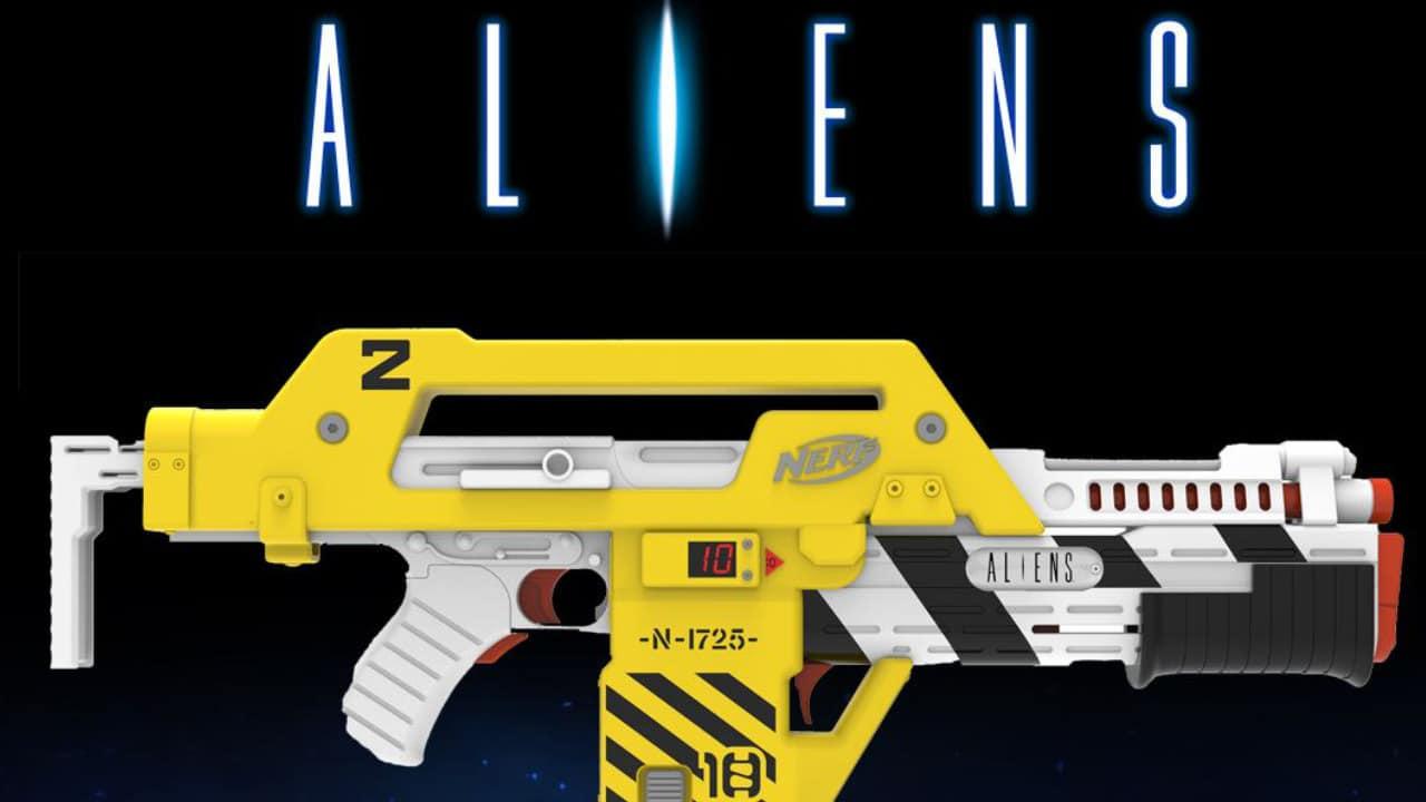 Il blaster NERF di Aliens è in arrivo per tutti gli appassionati thumbnail