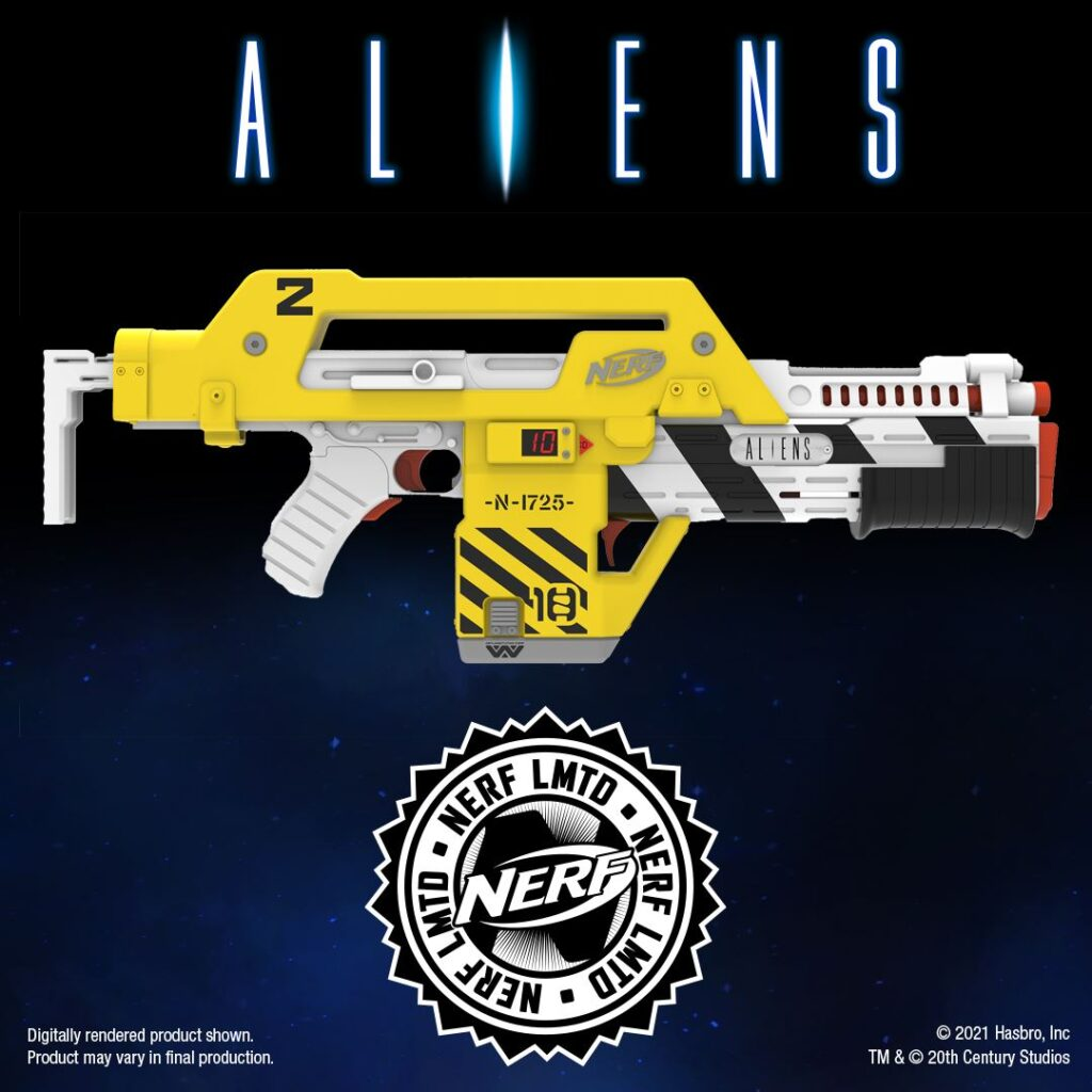 blaster NERF di Aliens